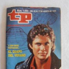 Coleccionismo de Revista Teleprograma: REVISTA TP TELEPROGRAMA EL COCHE FANTASTICO Nº1064 AÑO 1986. Lote 60272271