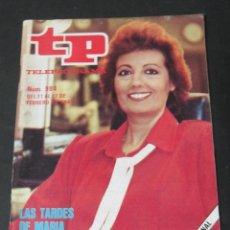 Coleccionismo de Revista Teleprograma: REVISTA TP TELEPROGRAMA Nº 984 FEBRERO 1985 MARIA TERESA CAMPOS . Lote 60627215