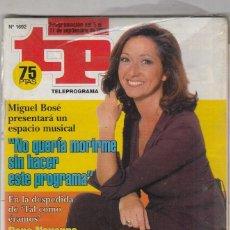 Coleccionismo de Revista Teleprograma: REVISTA TP TELEPROGRAMA Nº 1692 AÑO 1998. ANA ROSA QUINTANA. . Lote 61614540