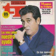 Coleccionismo de Revista Teleprograma: REVISTA TP TELEPROGRAMA Nº 1702 AÑO 1998. ANDRÉS PAJARES. . Lote 61614800