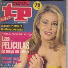 Coleccionismo de Revista Teleprograma: REVITA TP TELEPROGRAMA AÑO 1997 N 1621. ANA OBREGON. GRACIAS POR TODO. . Lote 61665804