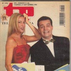 Coleccionismo de Revista Teleprograma: REVISTA TP TELEPROGRAMA Nº 1590 AÑO 1996. ANA OBREGÓN Y RAMÓN. PLURIEMPLEADOS EN TVE. . Lote 62475452