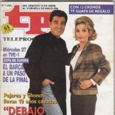 Coleccionismo de Revista Teleprograma: REVISTA TP TELEPROGRAMA Nº 1465 AÑO 1994. ANDRÉS PAJARES Y CONCHI. ¡AY, SEÑOR, SEÑOR!.CON PEGATINAS.. Lote 62965864