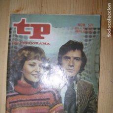Coleccionismo de Revista Teleprograma: TELEPROGRAMA Nº574 AÑO 1977, 625 LINEAS. Lote 62968224