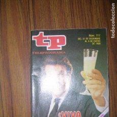 Coleccionismo de Revista Teleprograma: TP TELEPROGRAMA Nº607 AÑO 1977. Lote 63559300