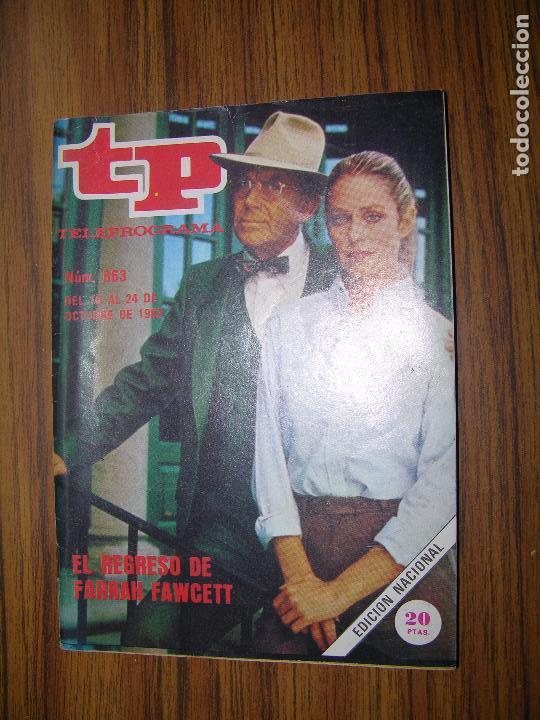 TP TELEPROGRAMA Nº863 AÑO 1982 FERRAH FAWCETT (Coleccionismo - Revistas y Periódicos Modernos (a partir de 1.940) - Revista TP ( Teleprograma ))