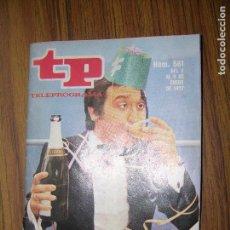 Coleccionismo de Revista Teleprograma: TP TELEPROGRAMA Nº561 AÑO 1977. Lote 63560080