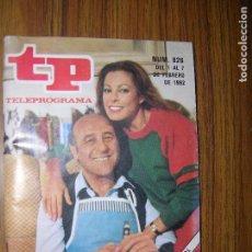 Coleccionismo de Revista Teleprograma: TP TELEPROGRAMA Nº826 AÑO 1982 DIALOGOS DE MATRIMONIO. Lote 63665107