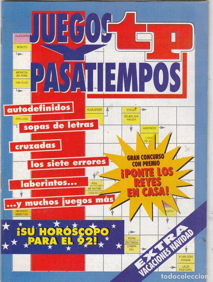REVISTA TP TELEPROGRAMA EXTRA PRIMAVERA. JUEGOS PASATIEMPOS. (Coleccionismo - Revistas y Periódicos Modernos (a partir de 1.940) - Revista TP ( Teleprograma ))