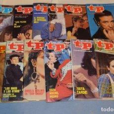 Coleccionismo de Revista Teleprograma: LOTE 2º - DE 12 TP - 12 TELEPROGRAMA - MUY VARIADOS - AÑOS 80 - BUEN ESTADO ¡MIRA!. Lote 64995795