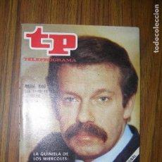 Coleccionismo de Revista Teleprograma: TELEPROGRAMA Nº608 AÑO 1977. Lote 66144626