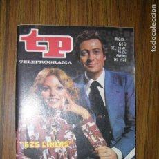 Coleccionismo de Revista Teleprograma: TELEPROGRAMA 625 LINEAS Nº616 AÑO 1978. Lote 66147402