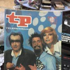 Coleccionismo de Revista Teleprograma: REVISTA TP - TELEPROGRAMA - Nº 587 - 1977 - EL MONSTRUO DE SANCHEZSTEIN. Lote 69508769