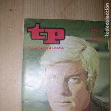 Collectionnisme de Magazine Teleprograma: TP TELEPROGRAMA Nº330AÑO 1972 PETER GRAVES. Lote 74184983