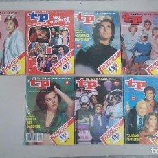 Coleccionismo de Revista Teleprograma: LOTE DE 7 NÚMEROS REVISTA TP TELEPROGAMA. . Lote 77153709