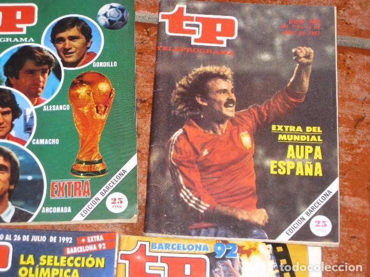Coleccionismo de Revista Teleprograma: 6 revista tp deportes - barcelona 92 - 2 extra mundial 1982 - barça madrid 1985 - gallego eurocopa - Foto 5 - 171583579
