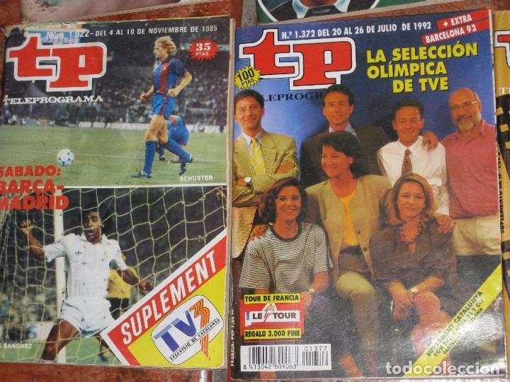 Coleccionismo de Revista Teleprograma: 6 revista tp deportes - barcelona 92 - 2 extra mundial 1982 - barça madrid 1985 - gallego eurocopa - Foto 3 - 171583579