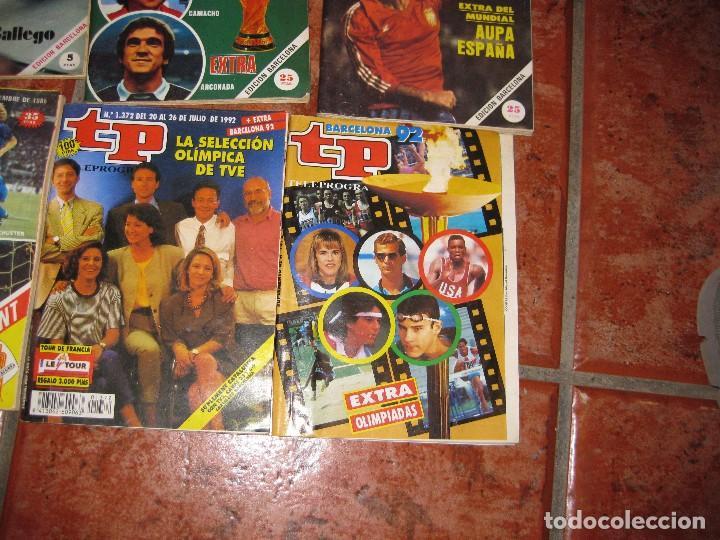 Coleccionismo de Revista Teleprograma: 6 revista tp deportes - barcelona 92 - 2 extra mundial 1982 - barça madrid 1985 - gallego eurocopa - Foto 4 - 171583579