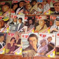 Coleccionismo de Revista Teleprograma: 16 REVISTA TP AÑOS 80 737 - 996 -1105-1076-990-1089-1108-994-1090-1111-746-1093-1106 1023-732-1104. Lote 77560281