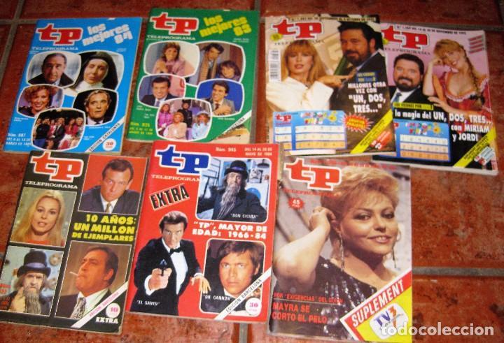 7 REVISTA TP CONCURSO UN DOS TRES 945 - 522 - 1098 - 935 - 1389 - 1382 - 987 DON CICUTA MAYRA (Coleccionismo - Revistas y Periódicos Modernos (a partir de 1.940) - Revista TP ( Teleprograma ))