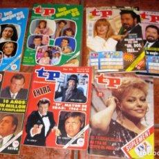 Coleccionismo de Revista Teleprograma: 7 REVISTA TP CONCURSO UN DOS TRES 945 - 522 - 1098 - 935 - 1389 - 1382 - 987 DON CICUTA MAYRA . Lote 77561193