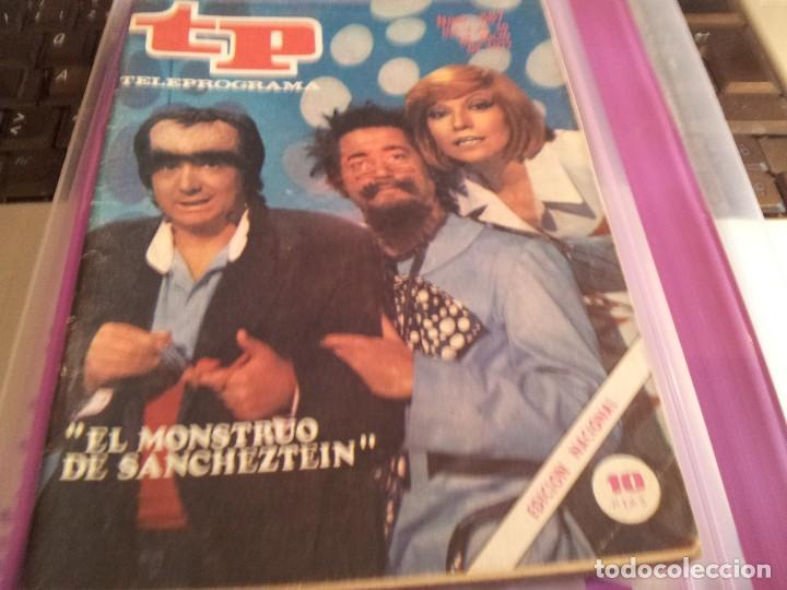 REVISTA TP - Nº 587 - JULIO 1977 (Coleccionismo - Revistas y Periódicos Modernos (a partir de 1.940) - Revista TP ( Teleprograma ))