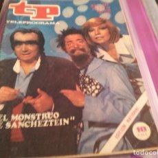 Coleccionismo de Revista Teleprograma: REVISTA TP - Nº 587 - JULIO 1977. Lote 78439933