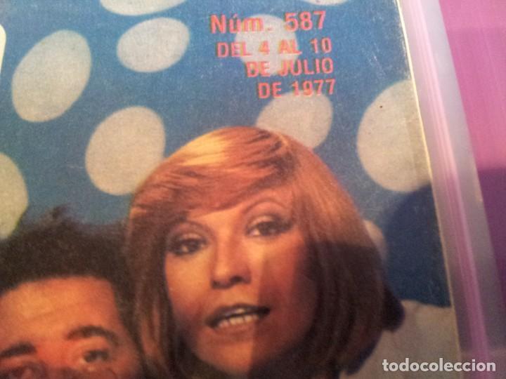 Coleccionismo de Revista Teleprograma: REVISTA TP - Nº 587 - JULIO 1977 - Foto 2 - 78439933