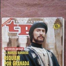 Coleccionismo de Revista Teleprograma: REVISTA TP - TELEPROGRAMA, Nº 1332, AÑO 1991. Lote 79763345
