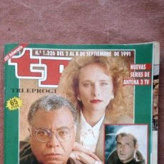 Coleccionismo de Revista Teleprograma: REVISTA TP - TELEPROGRAMA, Nº 1326, AÑO 1991. Lote 79763693