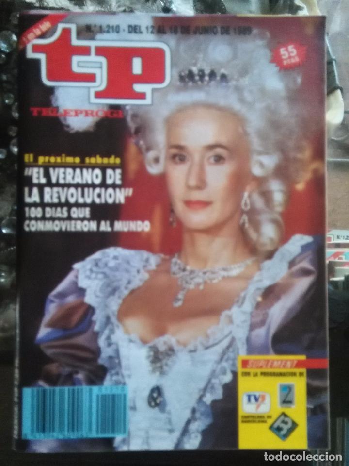 TP TELEPROGRAMA - AÑO 1989 N 1210 - EL VERANO DE LA REVOLUCION ... (Coleccionismo - Revistas y Periódicos Modernos (a partir de 1.940) - Revista TP ( Teleprograma ))
