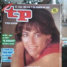 Coleccionismo de Revista Teleprograma: TP TELEPROGRAMA - AÑO 1990 N 1244 - CARMEN MAURA- BEN HUR ..... Lote 80910148
