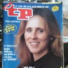 Coleccionismo de Revista Teleprograma: TP TELEPROGRAMA - AÑO 1990 N 1242 MERCEDES MILA, DUSTIN HOFFMAN . TOOTSIE .... Lote 80910280