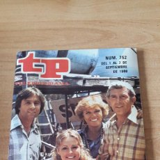 Coleccionismo de Revista Teleprograma: REVISTA TP - TELEPROGRAMA Nº 752 - CÓDIGO RESCATE - EDICION MADRID. Lote 81198972