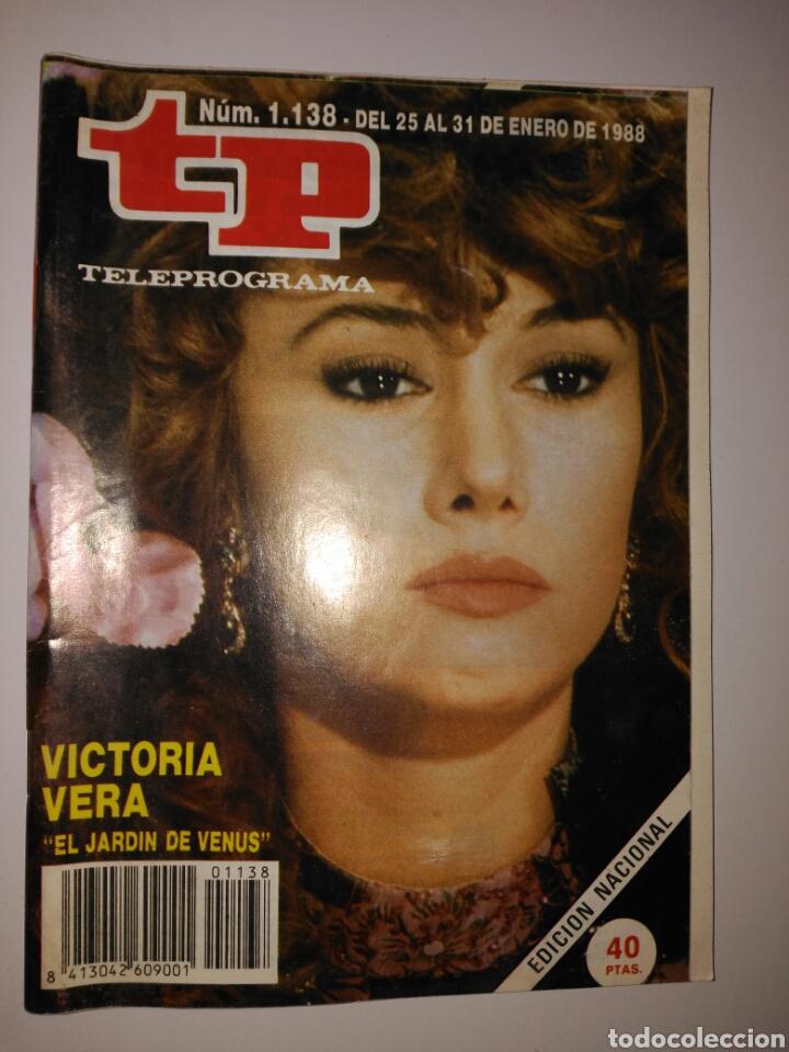 REVISTA TP TELEPROGRAMA N. 1138 ENERO 1988 (Coleccionismo - Revistas y Periódicos Modernos (a partir de 1.940) - Revista TP ( Teleprograma ))