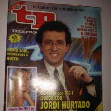 Coleccionismo de Revista Teleprograma: REVISTA TP TELEPROGRAMA N. 1305 ABRIL 1991. Lote 87031394