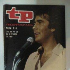 Coleccionismo de Revista Teleprograma: REVISTA TP TELEPROGRAMA N. 811 OCTUBRE 1981. Lote 87032135
