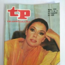 Coleccionismo de Revista Teleprograma: REVISTA TP TELEPROGRAMA N. 723 FEBRERO 1980. MONICA RANDALL. Lote 87498954