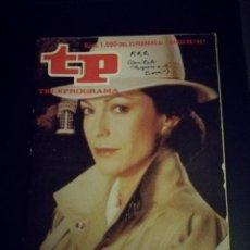 Coleccionismo de Revista Teleprograma: REVISTA TP NÚMERO 1090, FEBRERO 1987. Lote 88870272