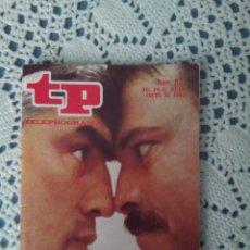 Coleccionismo de Revista Teleprograma: REVISTAS TELEPROGRAMA AÑO 1983. Lote 90516470