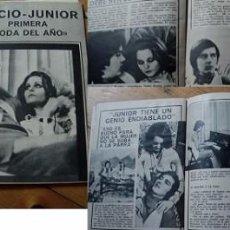 Coleccionismo de Revista Teleprograma: REVISTA TP 1970 ROCÍO DÚRCAL. Lote 90943920