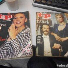 Coleccionismo de Revista Teleprograma: LOTE 2 TP TELEPROGRAMA. Lote 91561560