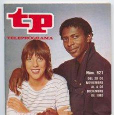 Coleccionismo de Revista Teleprograma: TP - TELEPROGRAMA - 1983 - TOCATA (MERCEDES RESINO Y EDDY CALIXTO), JULIO IGLESIAS. Lote 91999585