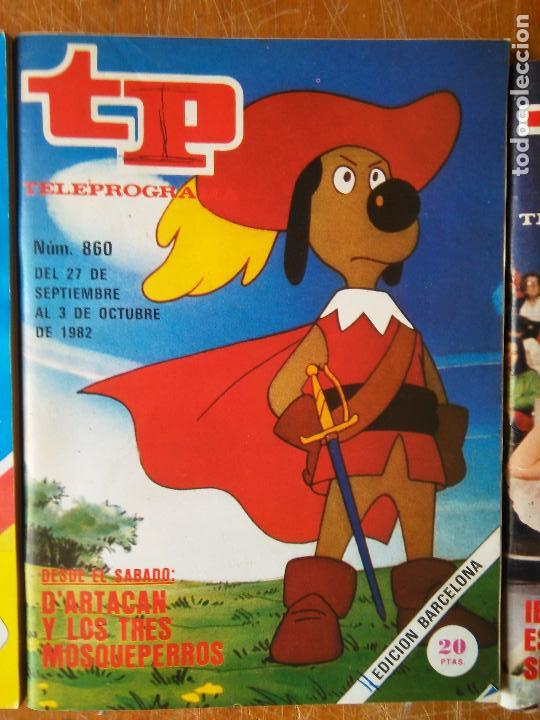 TP. TELEPROGRAMA. Nº 860. D´ARTACAN. DARTACAN Y LOS TRES MOSQUEPERROS AÑO 1982 (Coleccionismo - Revistas y Periódicos Modernos (a partir de 1.940) - Revista TP ( Teleprograma ))