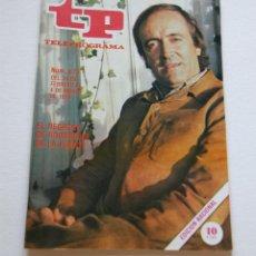 Coleccionismo de Revista Teleprograma: REVISTA TELEPROGRAMA Nº 673 - AÑO 1979 - FÉLIX RODRÍGUEZ DE LA FUENTE - MUY BUEN ESTADO. Lote 94502358