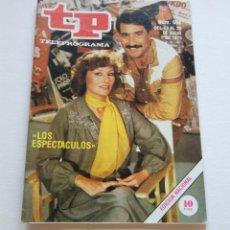 Coleccionismo de Revista Teleprograma: REVISTA TELEPROGRAMA Nº 694 - AÑO 1979 - LOS ESPECTACULOS - MUY BUEN ESTADO. Lote 94503038