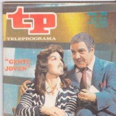 Coleccionismo de Revista Teleprograma: TP TELEPROGRAMA NÚMERO 585, GENTE JOVEN, MARISA ABAD Y ALFONSO DEL REAL, MARCO, JUNIO 1977. Lote 96863559