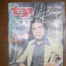 Coleccionismo de Revista Teleprograma: (F.1) REVISTA TP TELEPROGRAMA Nº 591 AÑO 1977( JOSE ANTONIO PLAZA CAMBIO DE PROGRAMA). Lote 98186659