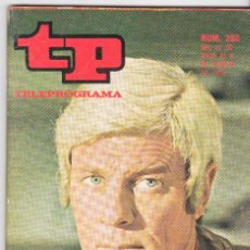 Coleccionismo de Revista Teleprograma: TP TELEPROGRAMA NÚMERO 330, PETER GRAVES, JULIO AGOSTO 1972. Lote 98384615