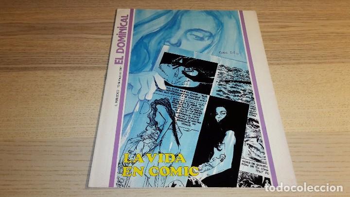 SUPLEMENTO EL DOMINICAL DE EL PERIÓDICO. LA VIDA EN CÓMIC. 1981 (Coleccionismo - Revistas y Periódicos Modernos (a partir de 1.940) - Revista TP ( Teleprograma ))